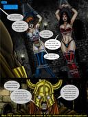 [matt johnson] 9 Superheroines vs Warlord Ch.1