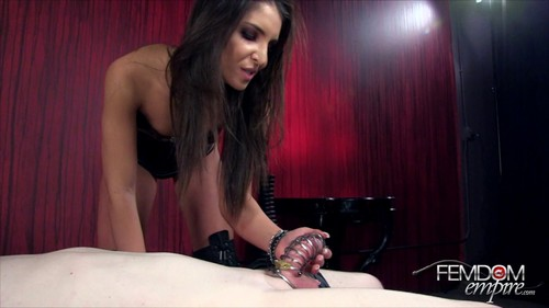 FemDom Empire - Giselle Leon - Spiked Chastity