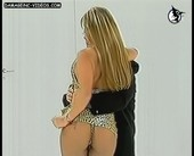 Alejandra Pradon ass in thong